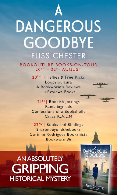 A Dangerous Goodbye blog tour