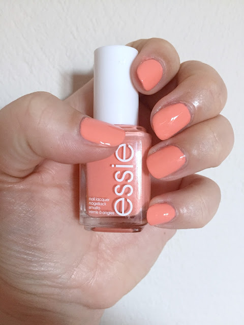 Essie Peach Side Babe - NOTD