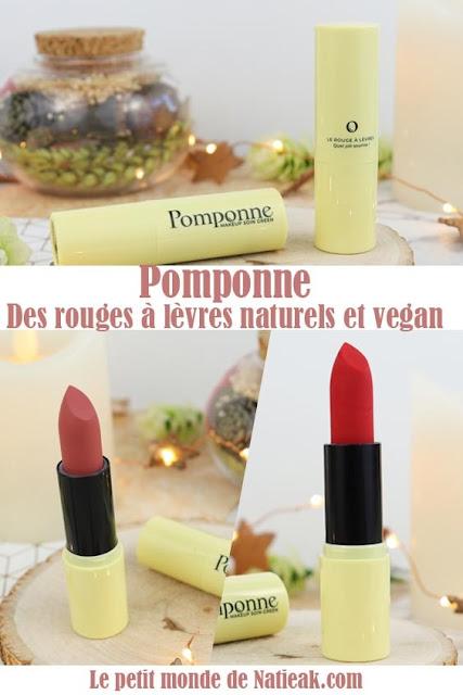 avis Pomponne rouge à lèvres Bois de rose et coquelicot