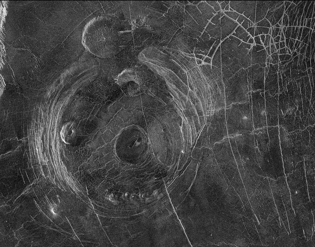 atividade vulcânica Vênus