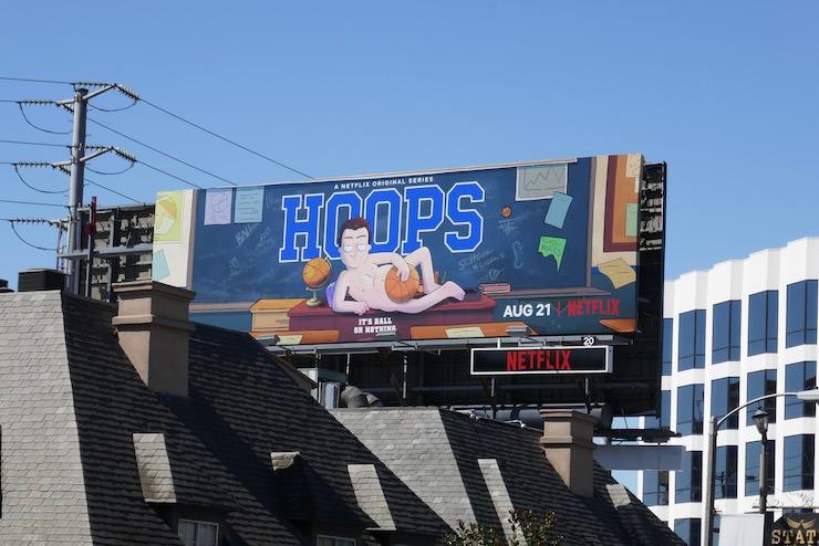 Hoops Netflix series billboard
