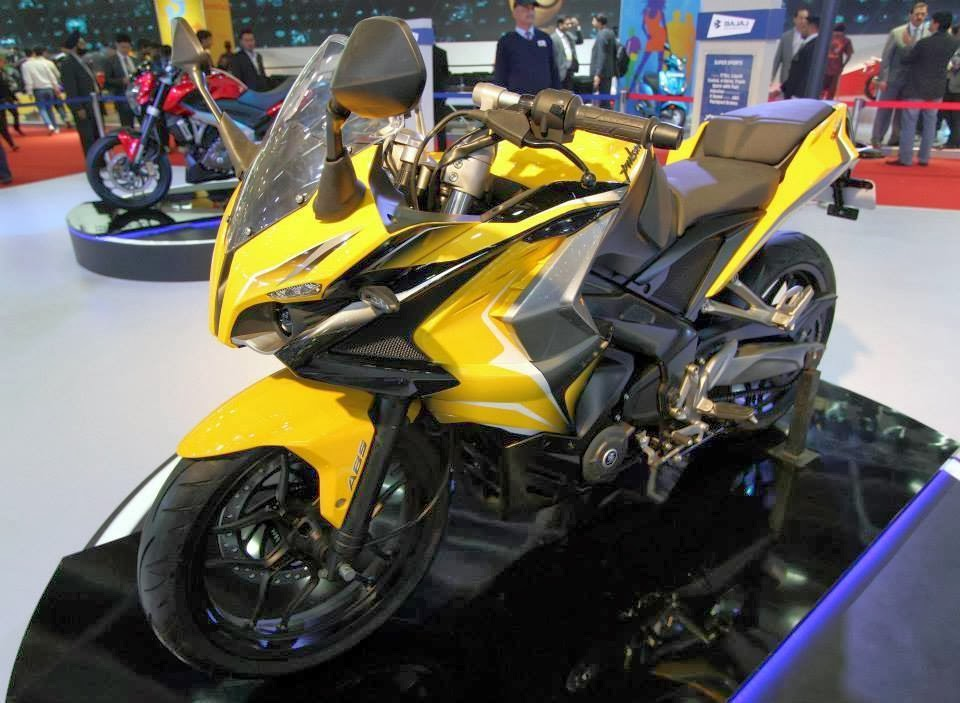 pulsar 400 cc supersports bike