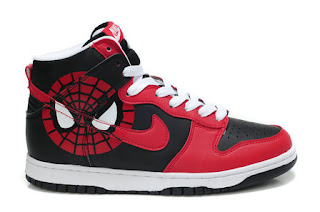 the best attitude 6583e fdfe9 Spiderman High Tops Nike Dunks New Released Shoes For Men