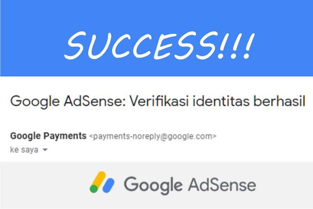 Cara Verifikasi Identitas Adsense