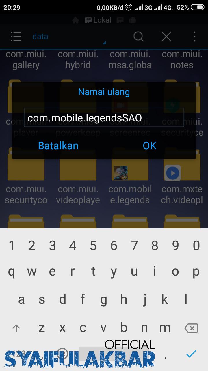 Cara Buat Akun Baru Mobile Legends Tanpa Harus Download Ulang Data (Terbaru Maret 2019)