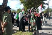 Aksi Solidaritas Muslimah Kalimantan Tengah Untuk Palestine Berlangsung Tertib