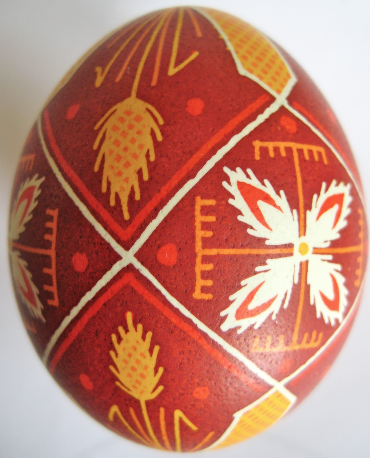 Saving The World One Egg At A Time Some Pysanky With Floral Motifs