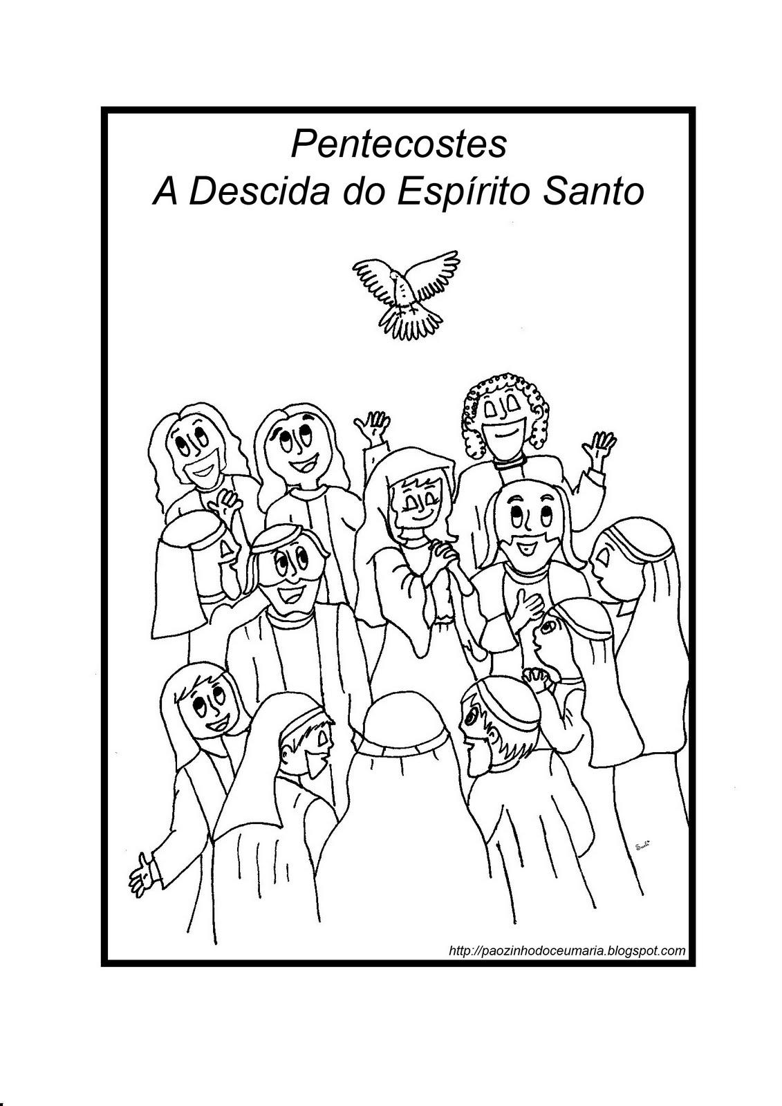 pãozinho do céu pentecostes atividades para catequese