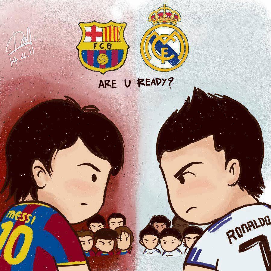 Kumpulan Gambar Kartun Couple Real Madrid