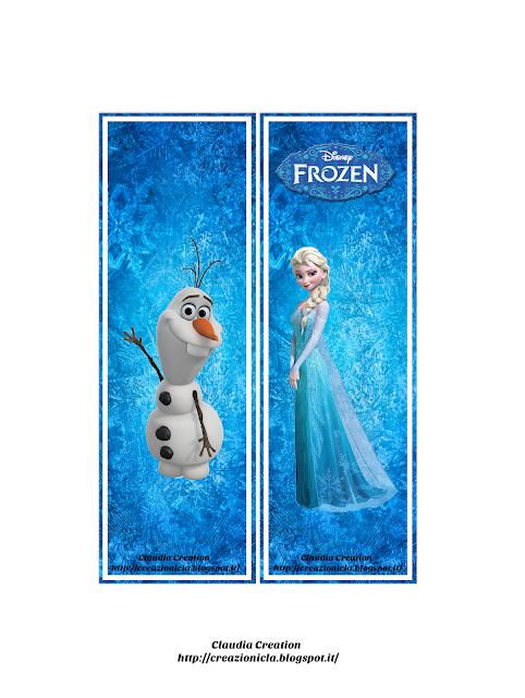 Segnalibro Frozen