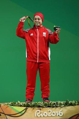 Egyptian Olympian Sarah Samir