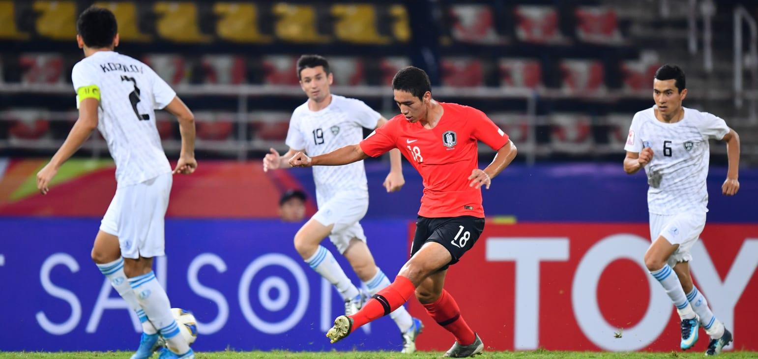 Oh Se-hun winning goal against Uzbekistan 01.15.20