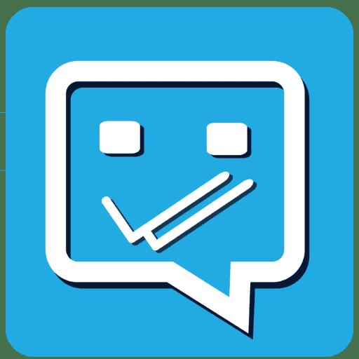 تطبيق Blue tick, last seen hider App