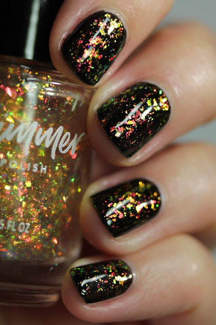 KBShimmer Raking It In swatch by Streets Ahead Style
