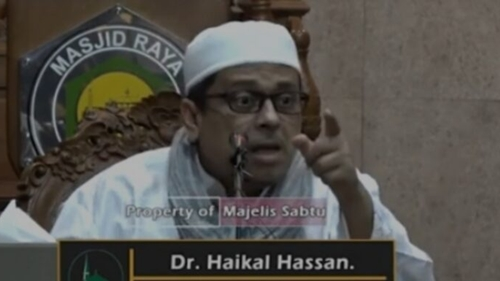 Haikal Hassan Ajak Umat Islam Perang Opini di Medsos: Itu Ibadah Antum!