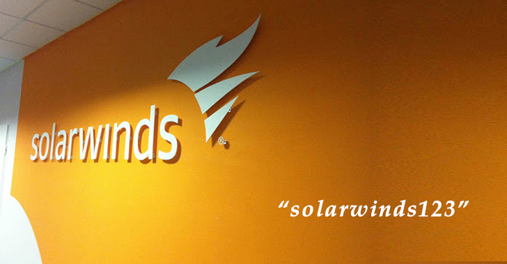 SolarWinds CEO Blames