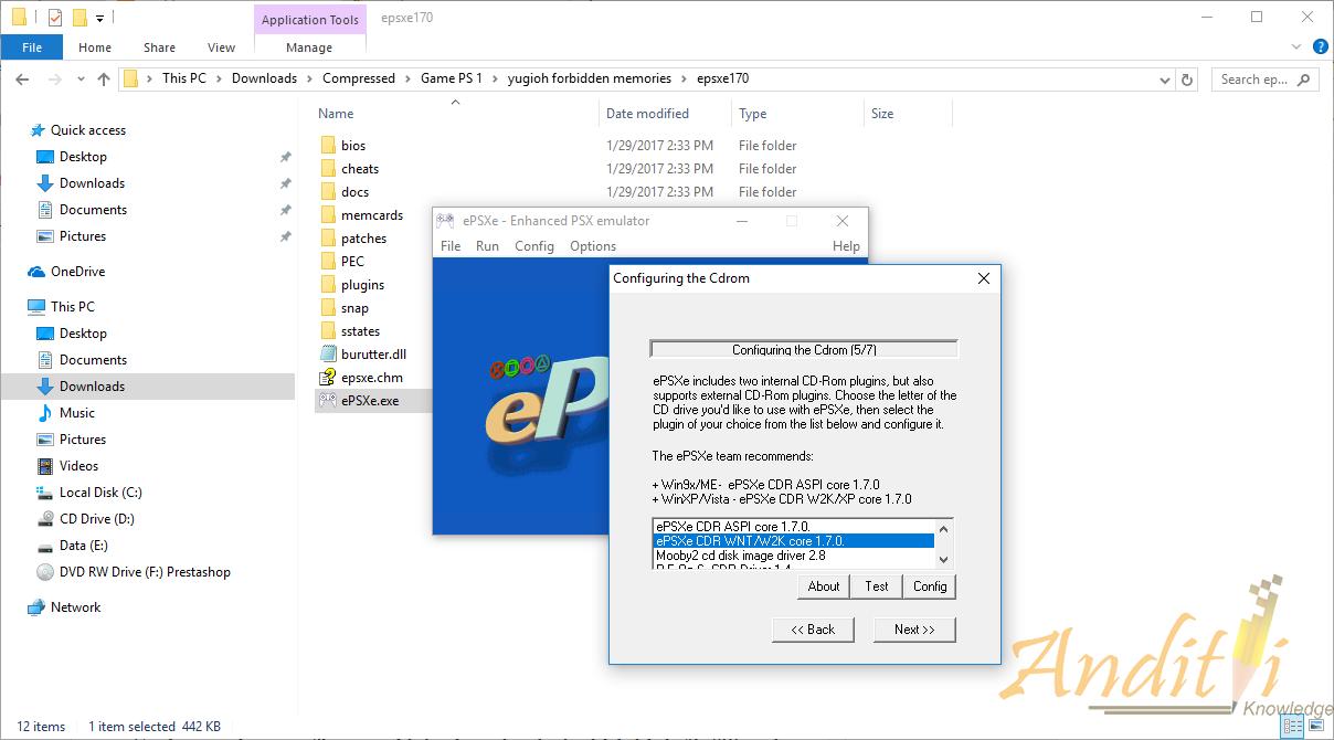 Cara Setting ePSXe 1 7 0 Kualitas Bagus Tidak Pecah - Pecah