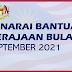 Senarai Bantuan Kerajaan Bulan September 2021 ~ Semak Sekarang