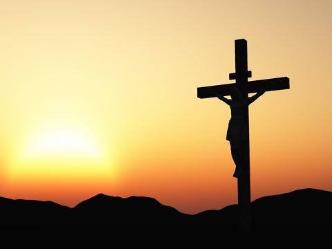 Ilustrasi salib Yesus di bukit Golgota | catatanadi.com
