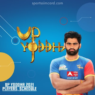 2021 UP Yoddha Players List, Matches Schedule, Stats, Records