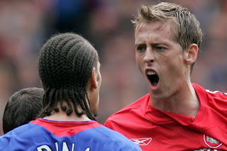 Peter Crouch: I nearly exchanging blows with Rio Ferdinand during Liverpool days
