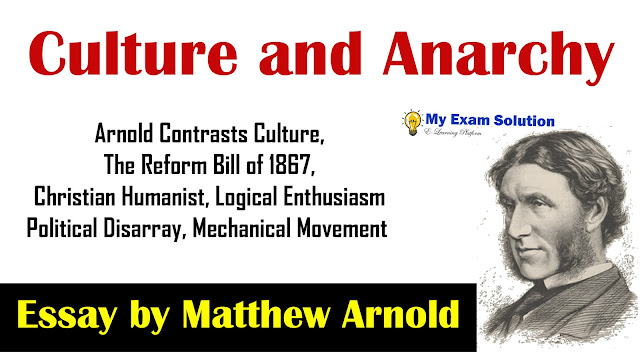 culture and anarchy, english literature, ugc net english literature, Culture and Anarchy of Delhi University,