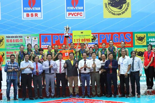 VTV Bình Điền Long An sẽ tranh tài ở Cúp các CLB vô địch nữ châu Á 2018