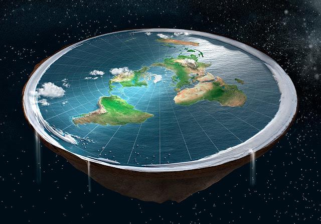 conceito de terra plana