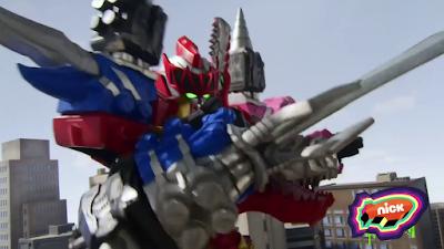 Power Rangers Dino Fury - Dino Fury Megazord