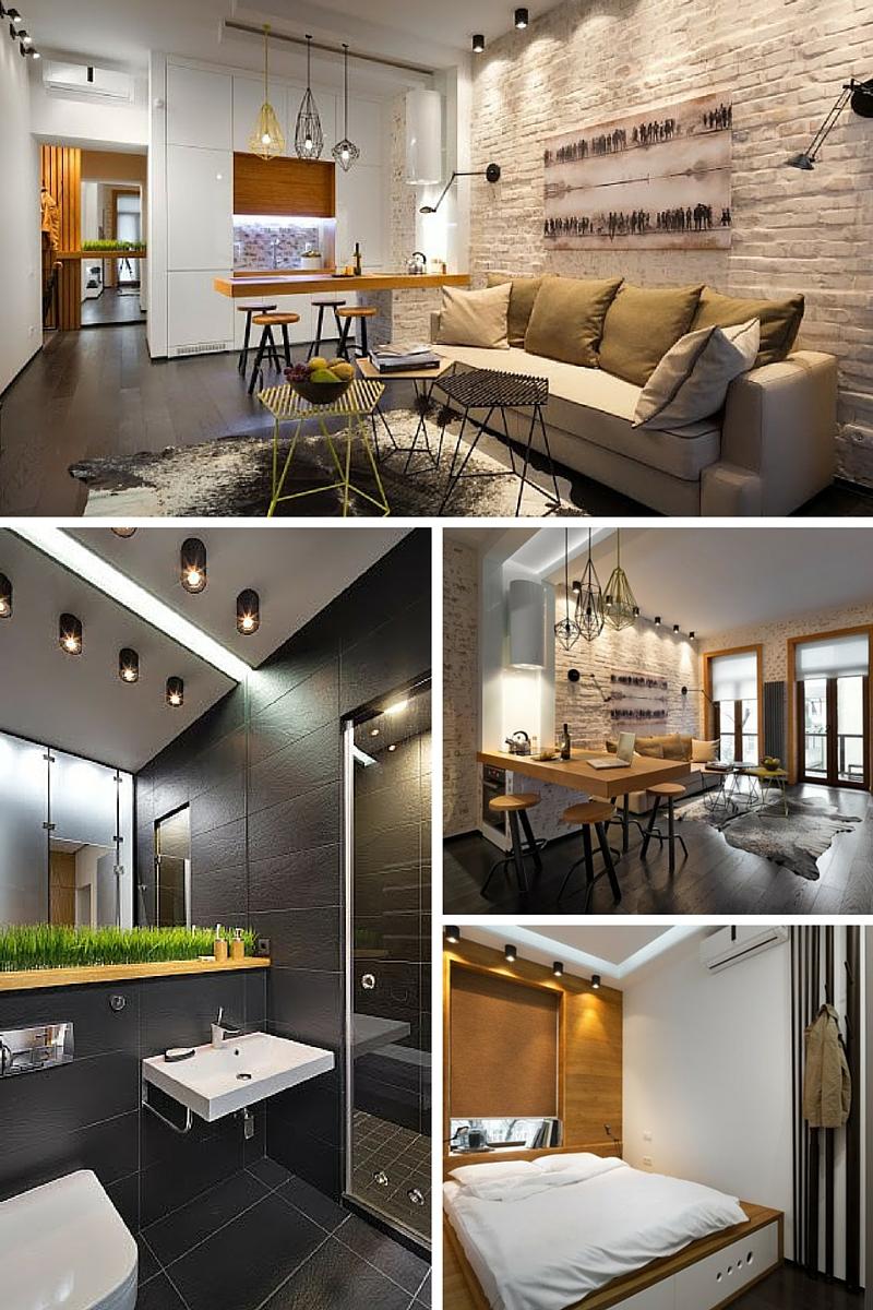 Vivir en un mini piso decoshabby for Pisos de 40 metros cuadrados