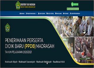 ppdb online untuk madrasah