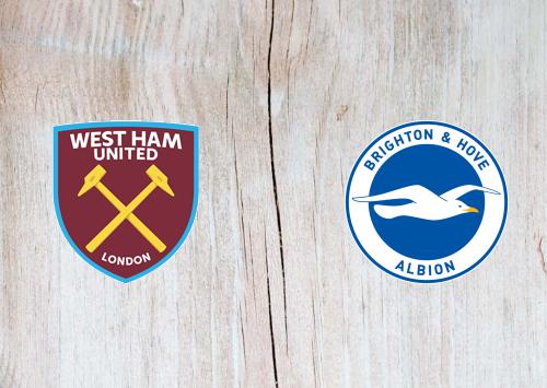 West Ham United vs Brighton & Hove Albion -Highlights 1 February 2020