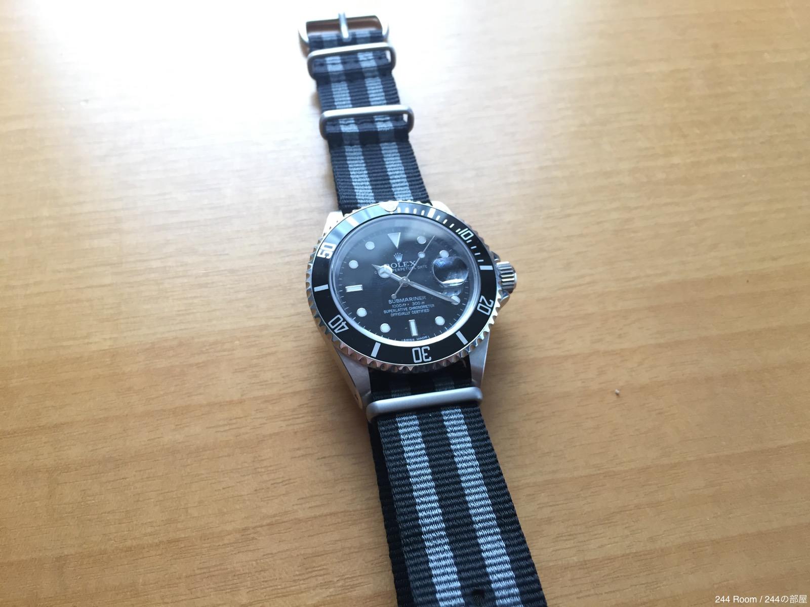 Rolex-submariner-date-natoG10strap-watchgecko