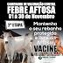 Comercial Pé do Morro informa sobre a campanha de vacinação contra febre aftosa