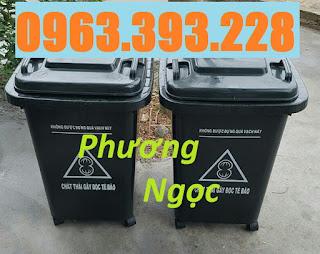 Thùng rác y tế 60L, thùng phân loại rác y tế, thùng rác y tế 60L có bánh xe 42f285b4d76e35306c7f