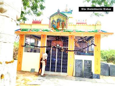 Telangana; Dalit family fined 5000 for entering Anjaneya Swamy temple