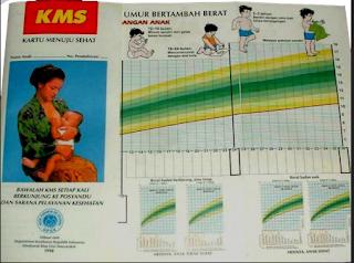 Contoh Dokumen KMS (Kartu Menuju Sehat) Terpadu