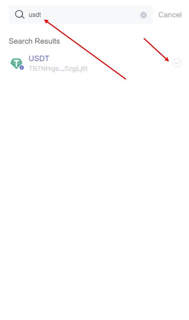 Добавление токенов в TronLink 3