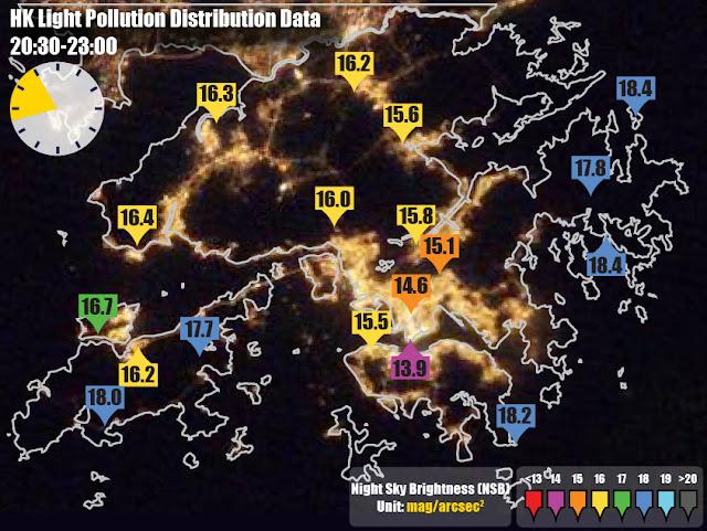 光污染 - 香港