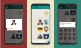 Cara menyimpan stiker WhatsApp sebagai Favorit