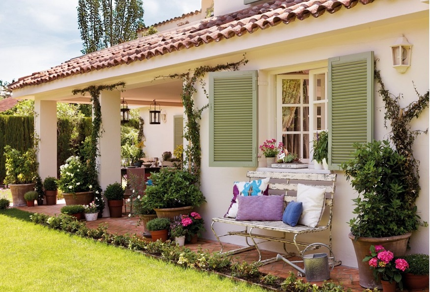 Pembe yast k ev dekorasyonu blogu ve dekorasyon - Casas decoradas con encanto ...