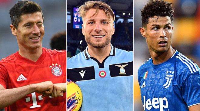 """Đua """"Giày vàng châu Âu"""" ngã ngũ, """"siêu chiến binh"""" hạ gục Ronaldo là ai?"""