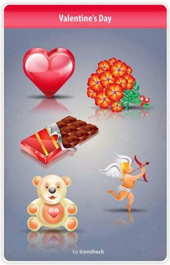 Free Valentines Day Icon Set