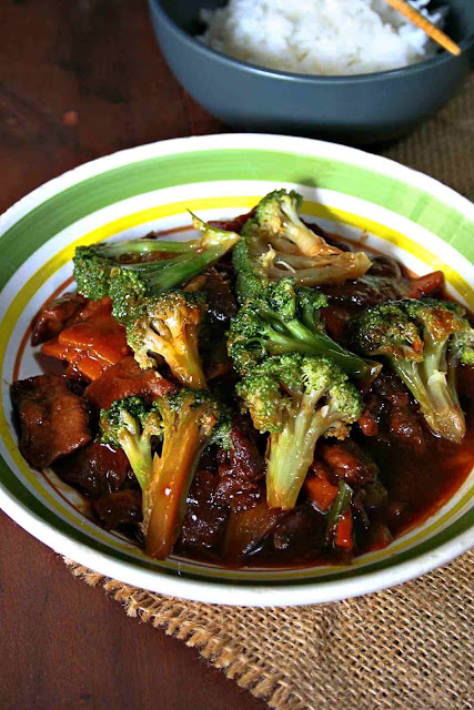 Beef with Broccoli Tien Ma Taiwanese Cuisine