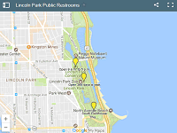Lincoln Park Public Restrooms map