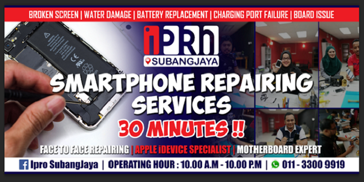 iPro - Servis Repair iPhone Motherboard Murah Pantas