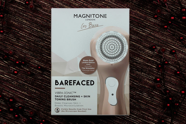 A review of Magnitone Barefaced Rose Gold Brush