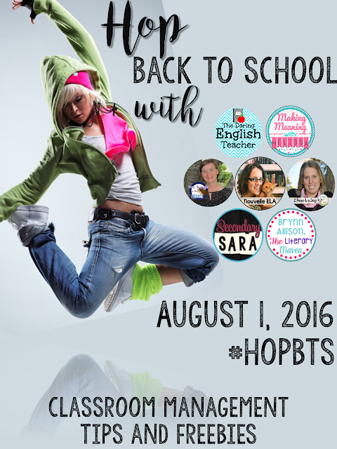 Hop Back to School with Classroom Management Tips and Freebies!