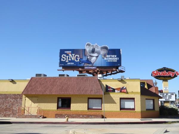 Sing Buster Moon Kaola billboard