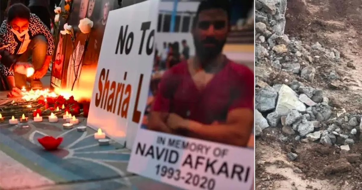 Iran's Regime Destroys Grave Of Executed 27-Year-Old Champion Wrestler Navid Afkari